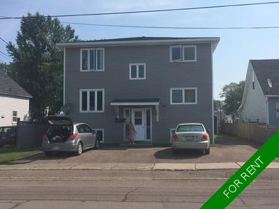 Moncton Apartment for rent: Triplex 3 bedroom  (Listed 2020-01-01)