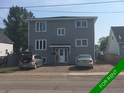 Moncton Apartment for rent: Triplex 3 bedroom  (Listed 2017-12-31)