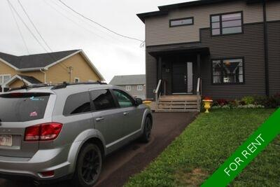Moncton Duplex Side by Side for rent:  4 bedroom  (Listed 2020-12-01)